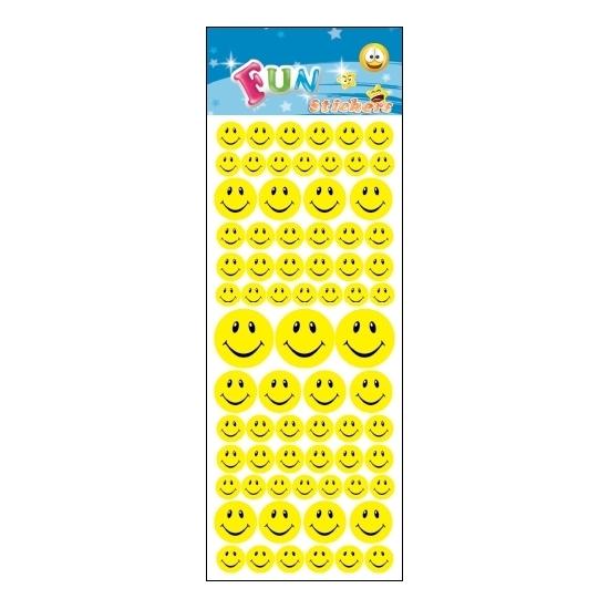 Kado stickers smiley face