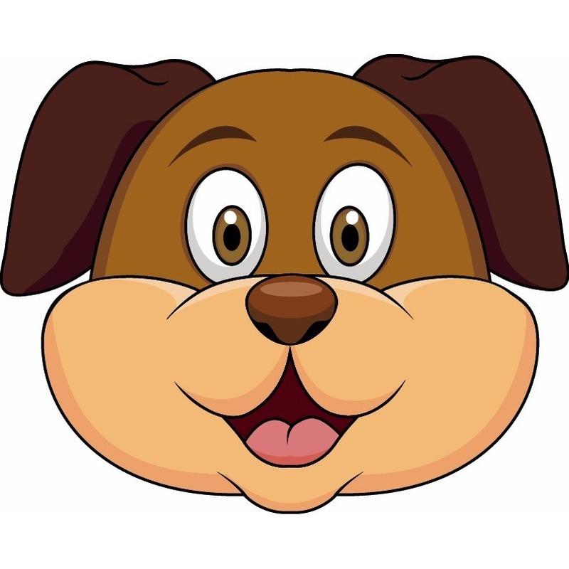 Kleurplaten Politiehonden.Kleurplaat Masker Hond Archidev