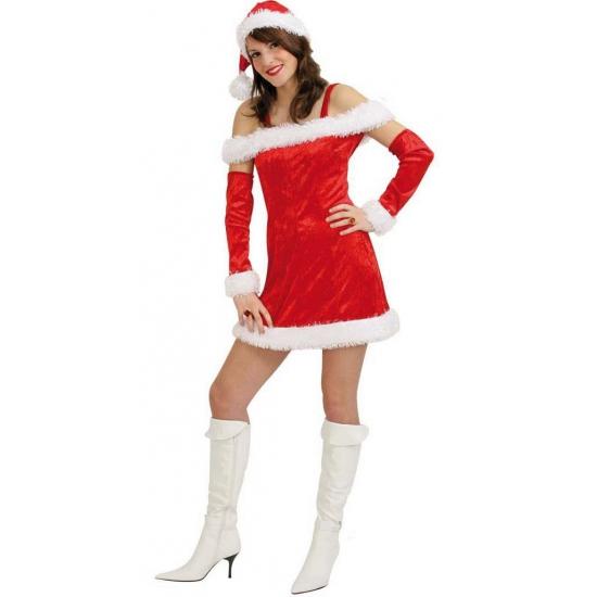 Kerst damesjurkje deluxe