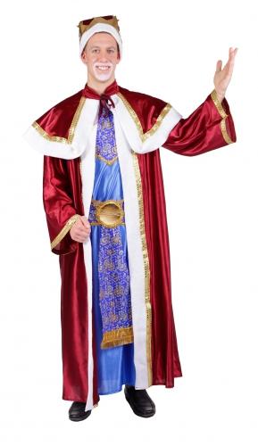 Kerstmis verkleedkleding Melchior