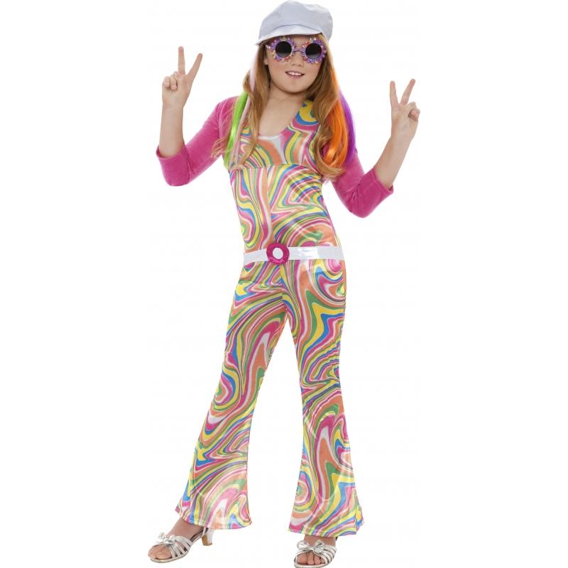 Smiffys Kinder Carnavalskleding jaren 60 jumpsuit Geschiedenis kostuums