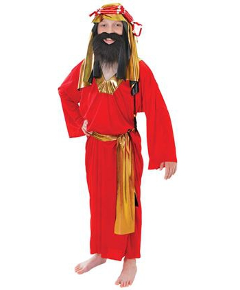 Kinder kerst kostuum bijbelverhaal
