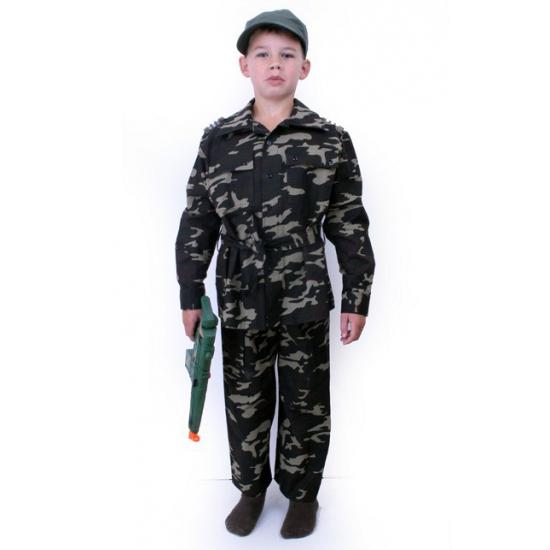 Kinder leger commando kostuum Geen Beroepen kostuums