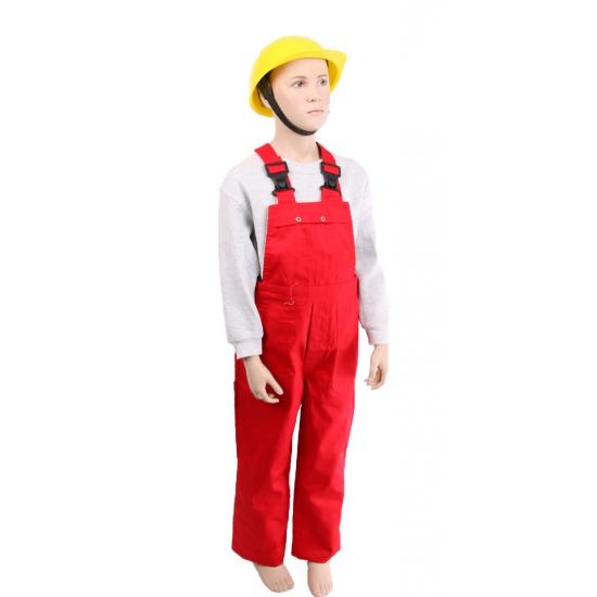 Kinder tuinbroek rood Carnavalskostuum winkel Soorten kostuums