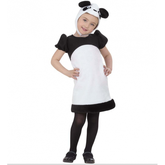 Kinder verkleedkleding pandabeertje