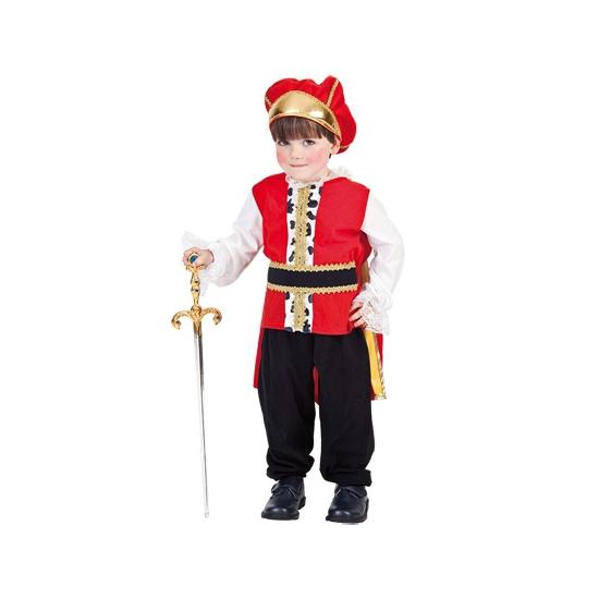 Fantasy en Sprookjes kostuums Carnavalskostuum winkel Konings kostuum voor peuters