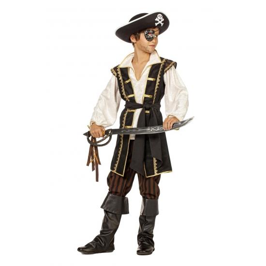 Carnavalskostuum winkel Luxe piraten kostuum voor jongens Geschiedenis kostuums