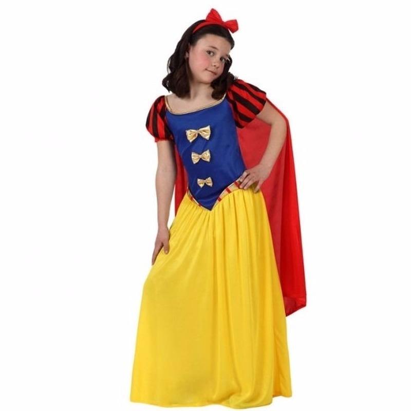 Fantasy en Sprookjes kostuums Geen Luxe sprookjesprinses kostuum met cape