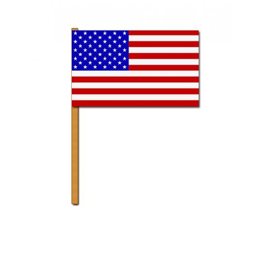 Luxe zwaaivlag Amerika Carnavalskostuum winkel Landen versiering en vlaggen