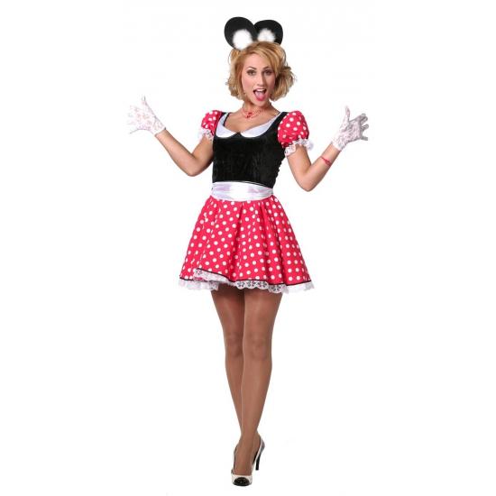 Mamma Mouse verkleedkleding voor dames Carnavalskostuum winkel Superhelden en Cartoon kostuums