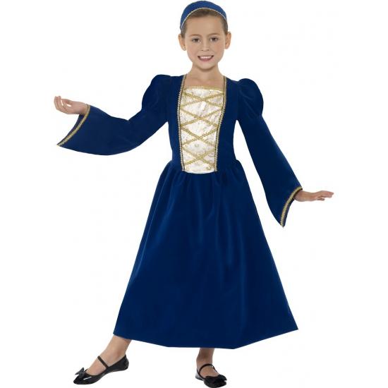 Geschiedenis kostuums Middeleeuws prinses jurkje voor meisjes
