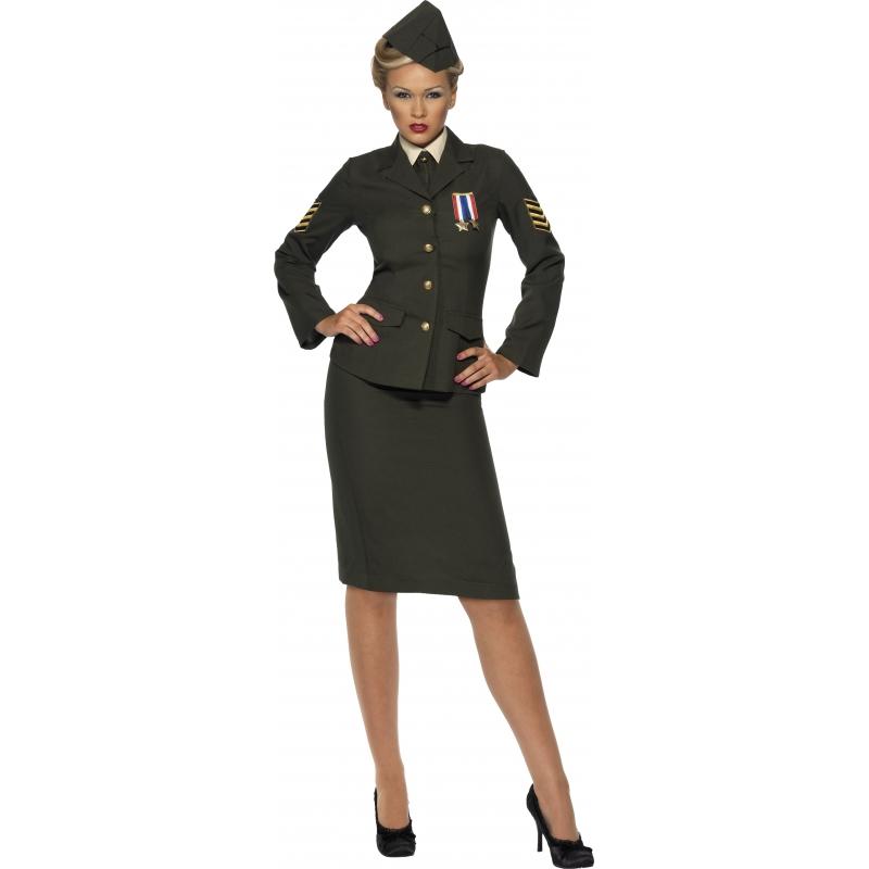 Militair kostuum voor dames Smiffys Beroepen kostuums