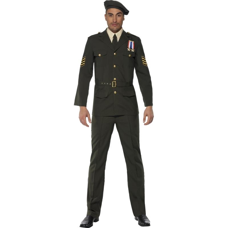 Militair kostuum voor heren