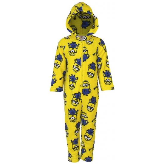 75aa690445f Fleece onesies Minions voor kinderen in de Carnavalskostuum winkel.