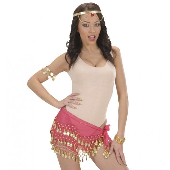 Carnavalskostuum winkel Muntjes riem voor dames Verkleedaccessoires