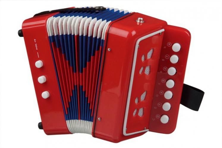 Muziek accordeon speelgoed