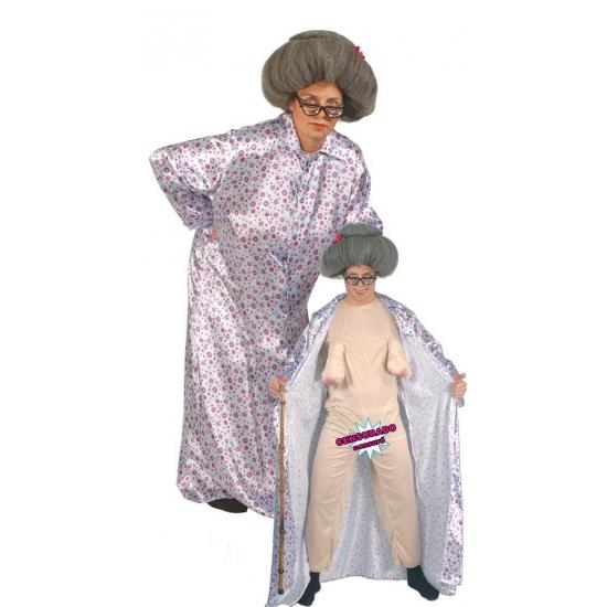 Funny kostuums Smiffys Naakte oma fun kostuum