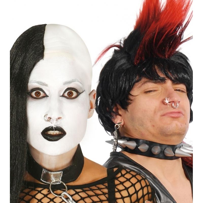 Nep oorring of neusring zilver Carnavalskostuum winkel Premier