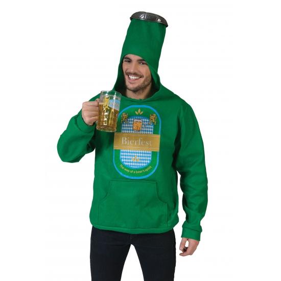 Oktoberfest - Groene bierfles trui