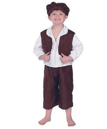 Geschiedenis kostuums Carnavalskostuum winkel Oliver Twist carnavalskleding voor kinderen