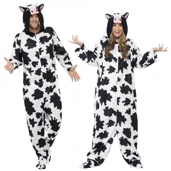 Onesies koe voor volwassenen