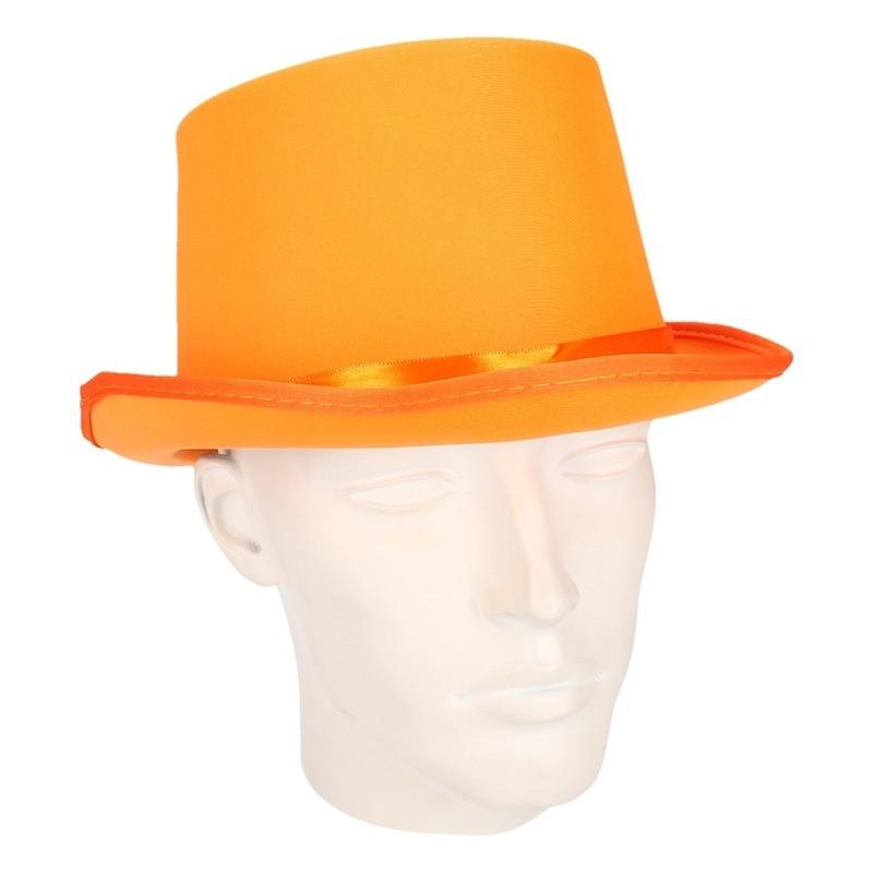 oranje-hoge-hoed-voor-volwassenen