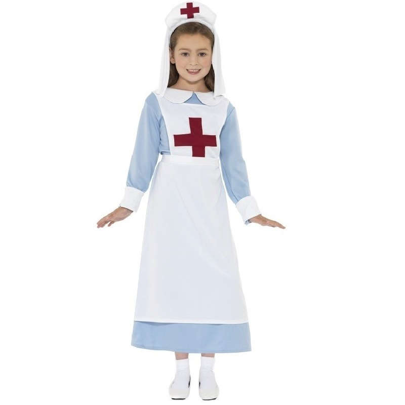 Beroepen kostuums Smiffys Ouderwetse zuster kostuums
