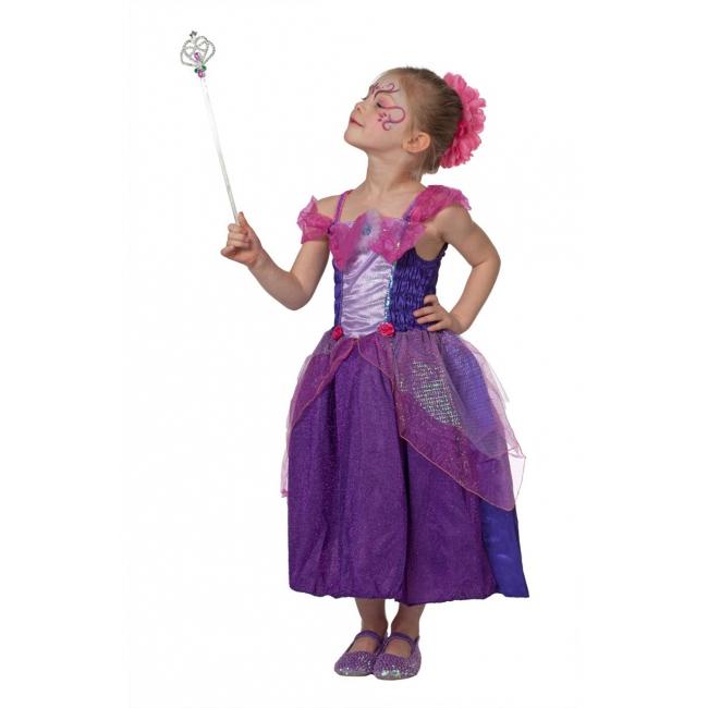 Fantasy en Sprookjes kostuums Carnavalskostuum winkel Paars met roze prinsessen jurk