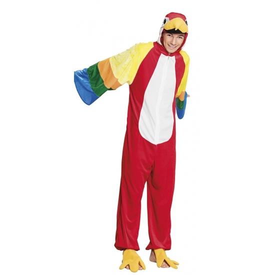Papegaai dieren kostuum voor kinderen Carnavalskostuum winkel Dierenpakken