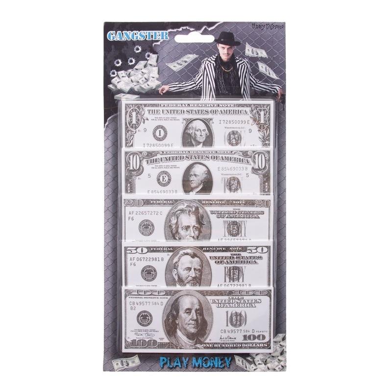 Papieren speelgeld dollars 100 biljetten