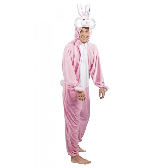 Pasen Roze konijn - haas kostuum voor heren