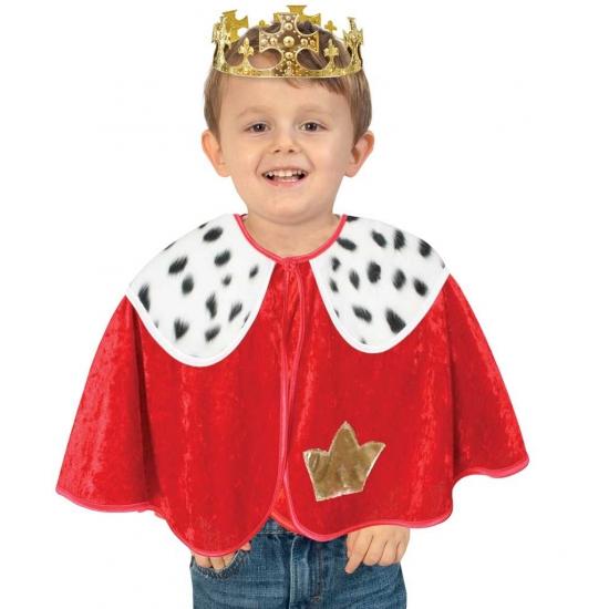 Peuter poncho koning Carnavalskostuum winkel Fantasy en Sprookjes kostuums