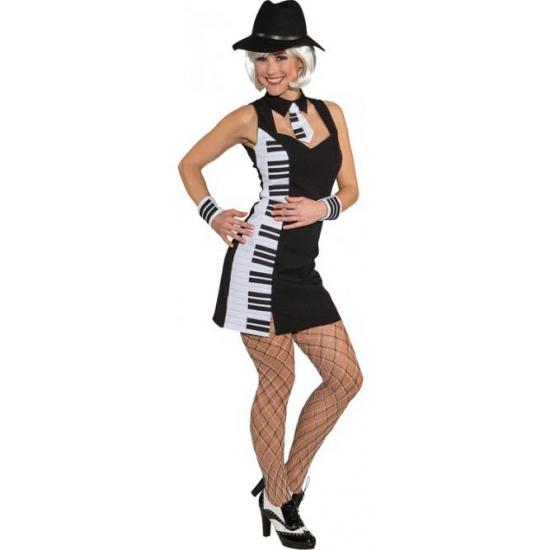 Piano feestjurkje voor dames