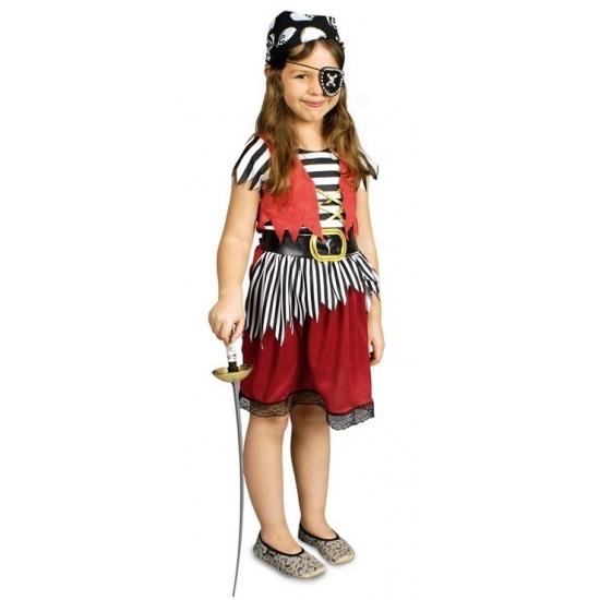 Piraten kostuum voor meisjes Carnavalskostuum winkel Geschiedenis kostuums
