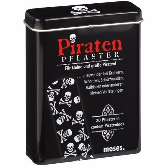 Piraten pleisters 20 stuks