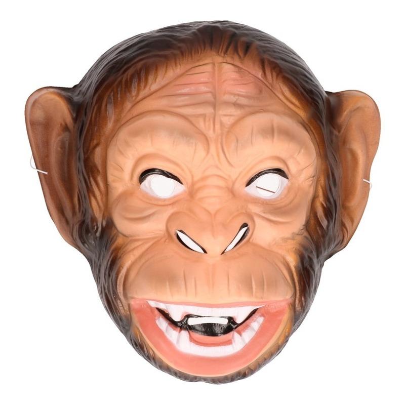 Plastic apen masker voor volwassenen