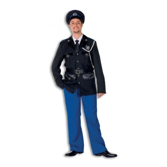 Politie herenkostuum van polyester