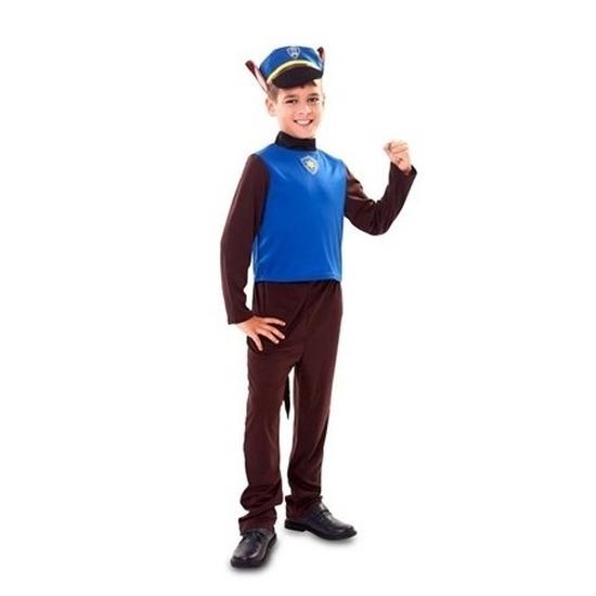 Politie hond kostuum voor jongens