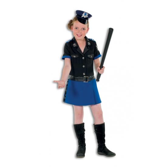 Beroepen kostuums Geen Politie kostuum luxe voor meisjes