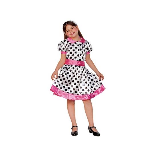 Geschiedenis kostuums Carnavalskostuum winkel Polkadot jurkje voor meisjes