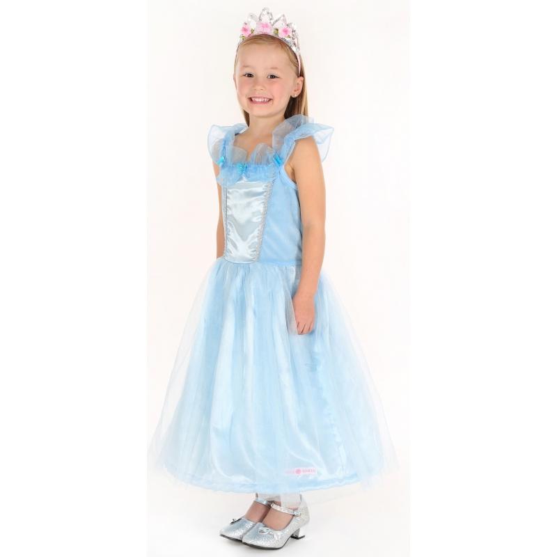Fantasy en Sprookjes kostuums Carnavalskostuum winkel Prinses jurkje blauw