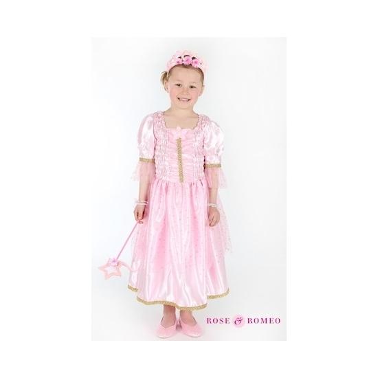 Prinses jurkje lichtroze Carnavalskostuum winkel Fantasy en Sprookjes kostuums