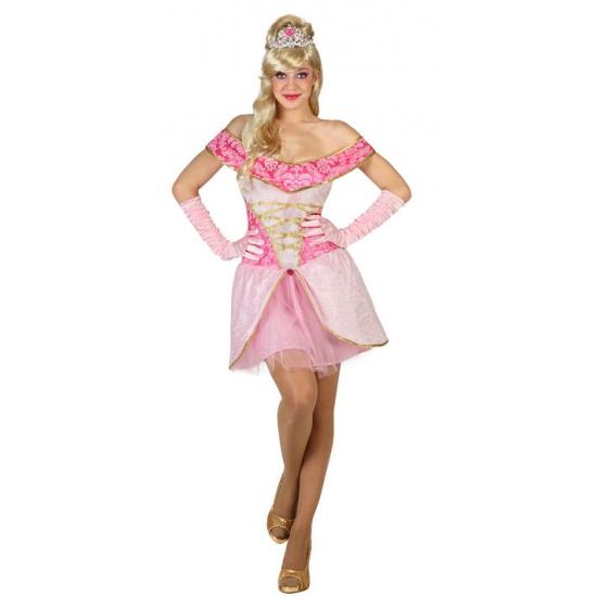 Prinsessen jurkje lichtroze