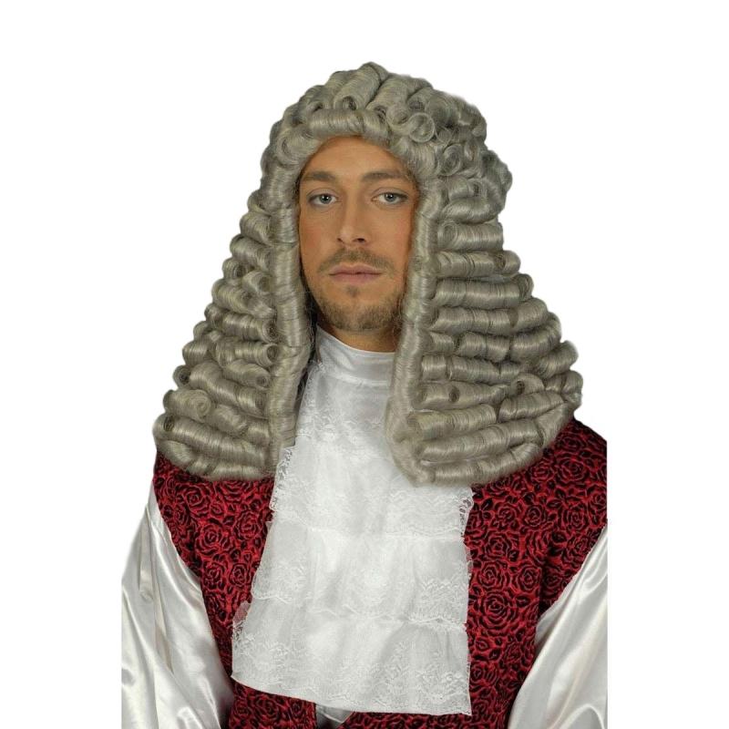Verkleedaccessoires Rechter befje voor volwassenen