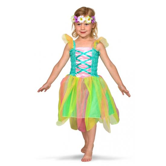 Fantasy en Sprookjes kostuums Geen Regenboog fee kostuum voor meisjes