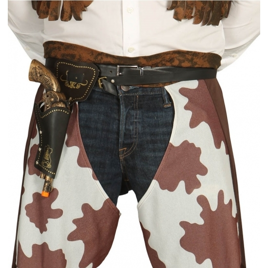 Carnavalskostuum winkel Revolver holster inclusief pistool 29 cm Wapens