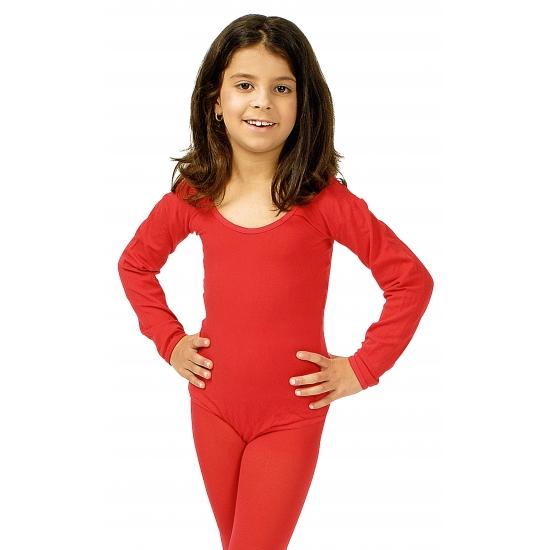 Rode kinder bodysuit