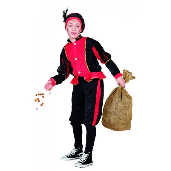 Rode Pieten kinderverkleedkleding