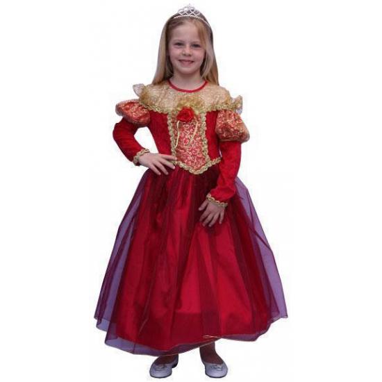 Carnavalskostuum winkel Rode prinsessen jurk voor meisjes Fantasy en Sprookjes kostuums