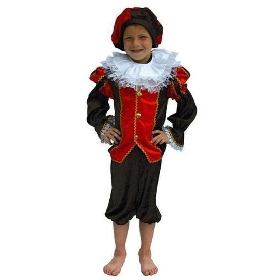 Rood met zwart Pieten pak voor kinderen